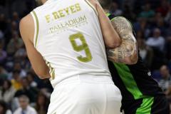 Reyes y Martín protagonizaron varios duelos físicos (Foto: Antonio Cefalù).